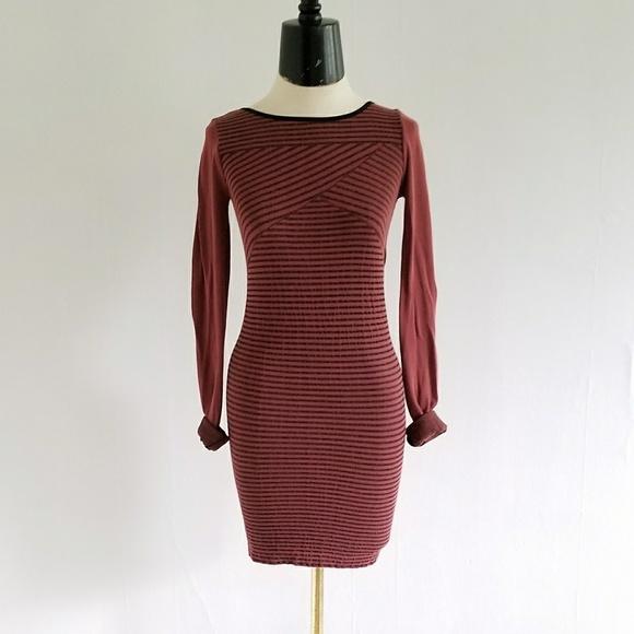 Nwt Intimately Free People Striped Body Con Dress | Poshmark